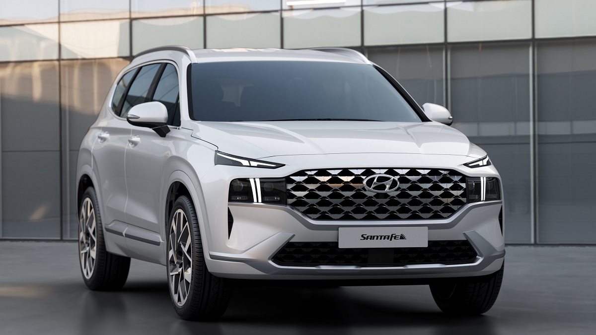Hyundai Santa Fe facelift revealed, but Hyundai Palisade more likely for India