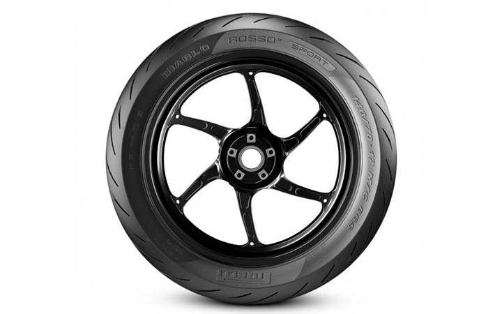 Pirelli Diablo Rosso Sport Tires For Small Motorbikes Launched