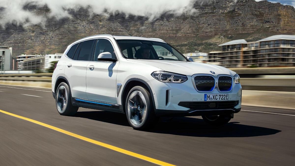 BMW iX3 electric SUV unveiled