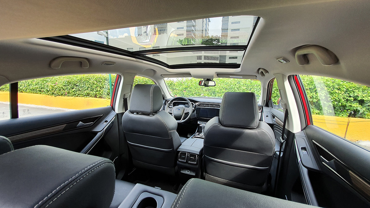 The Ford Territory Interior
