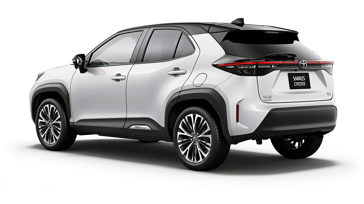 The Toyota Yaris Cross 2021