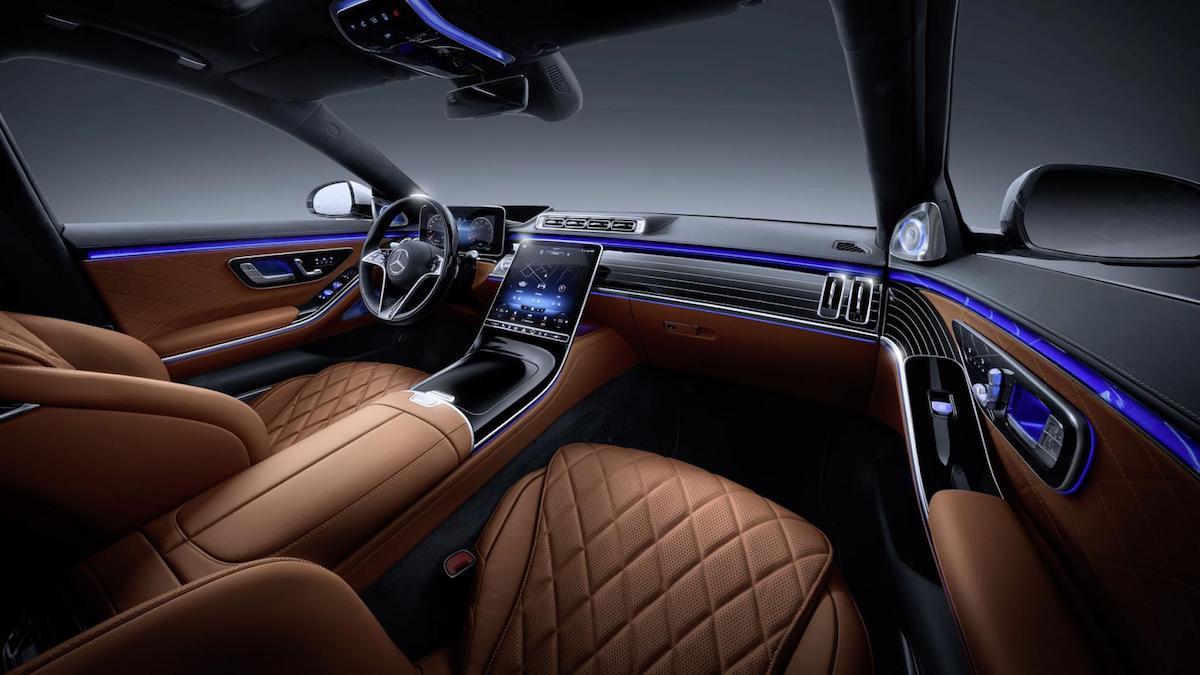 The Mercedes-Benz S Class