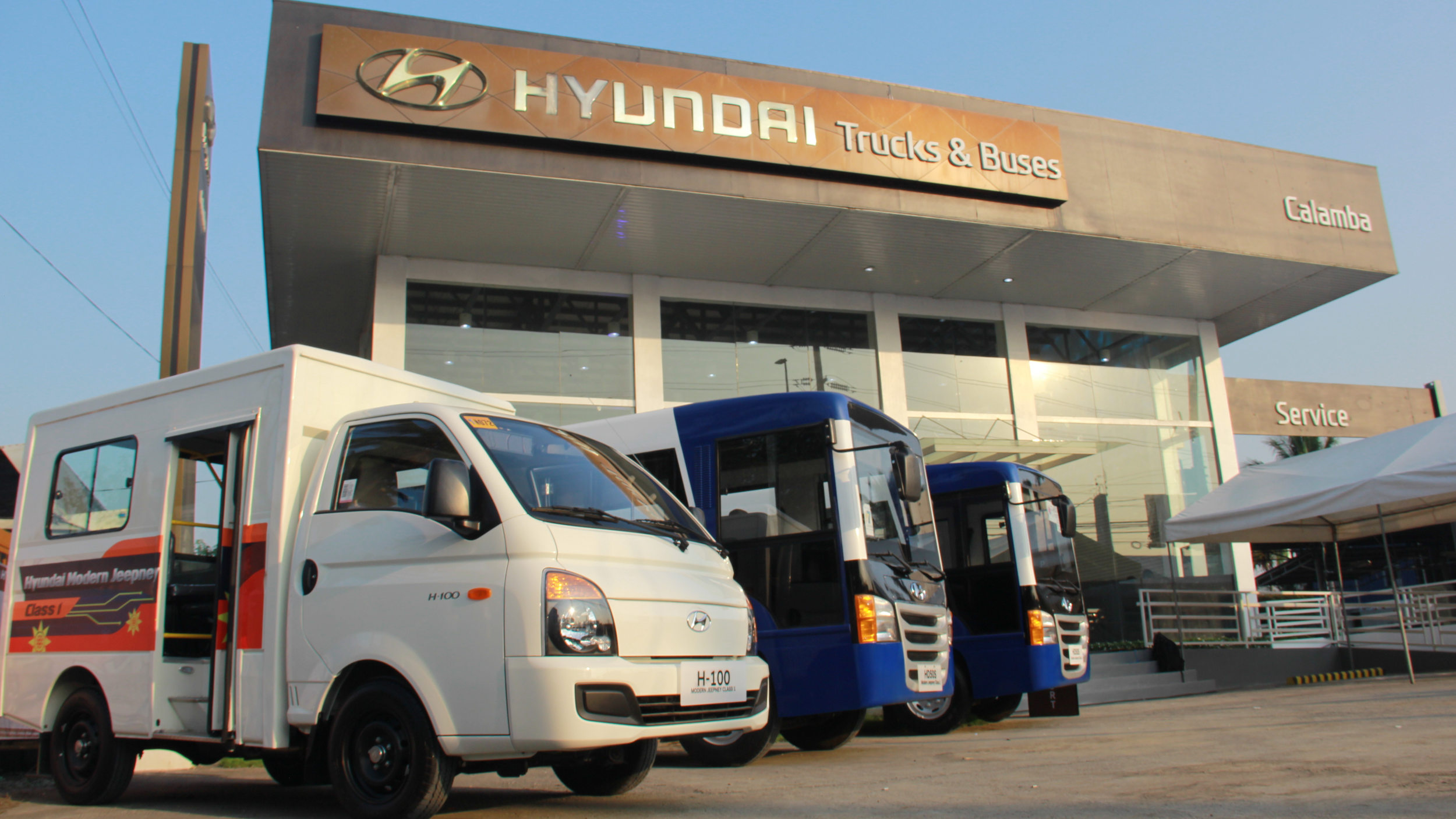 A Hyundai dealership in the Philippines