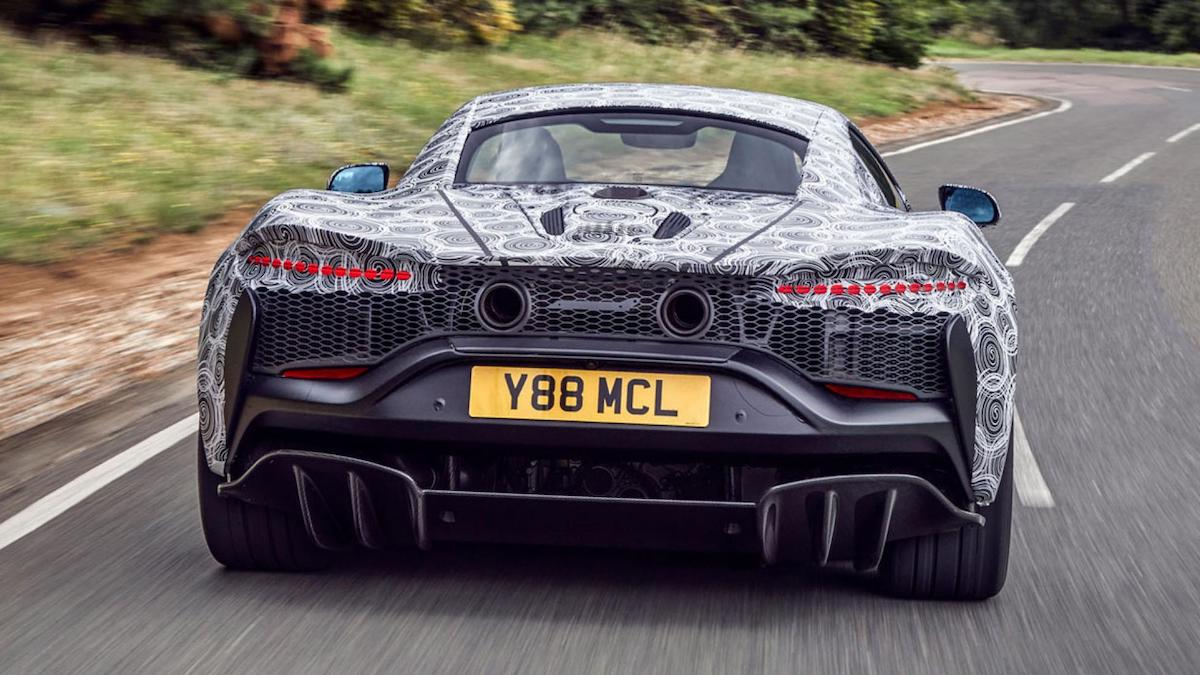 McLaren teases V-6 hybrid supercar as the future gets electrified