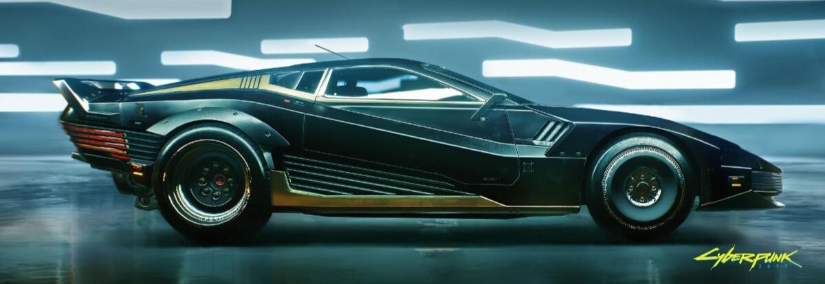 Gallery: The cars in 'Cyberpunk 2077'