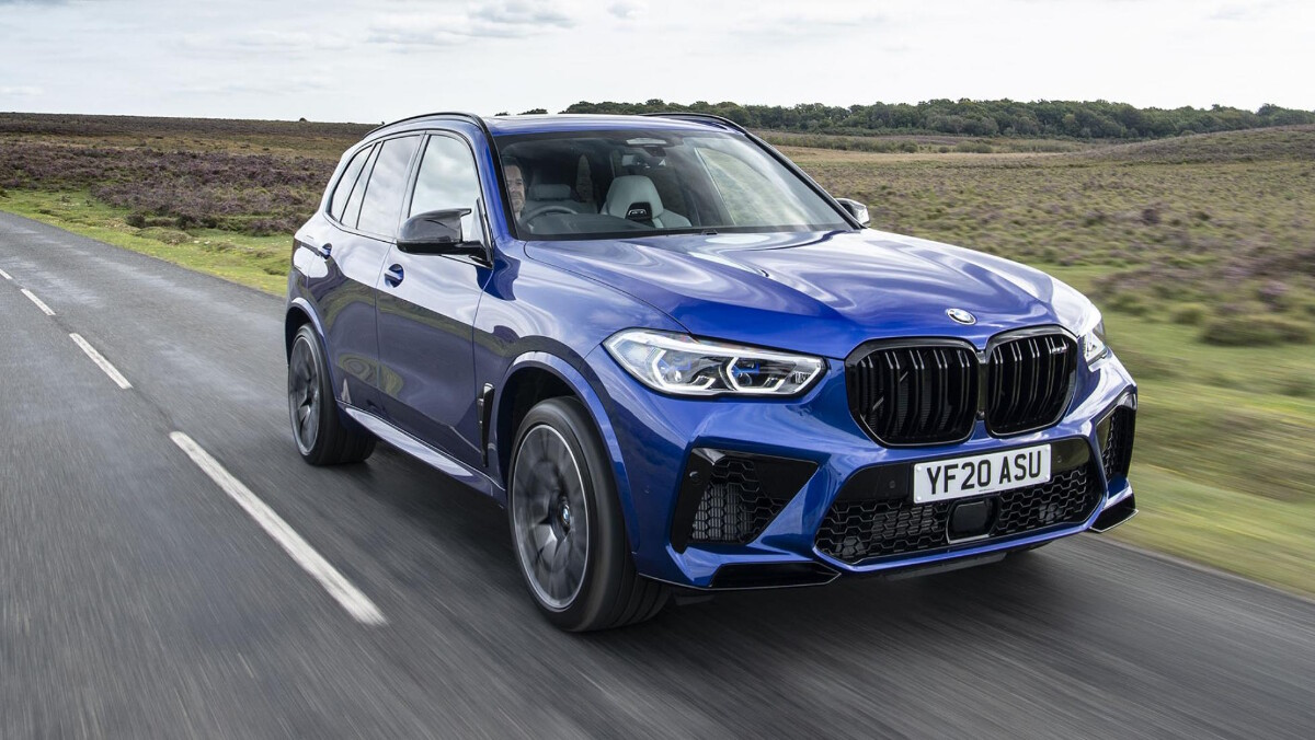The BMW X5 on the Road