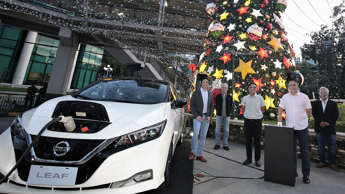 Nissan's Leaf 10 electric vehicle