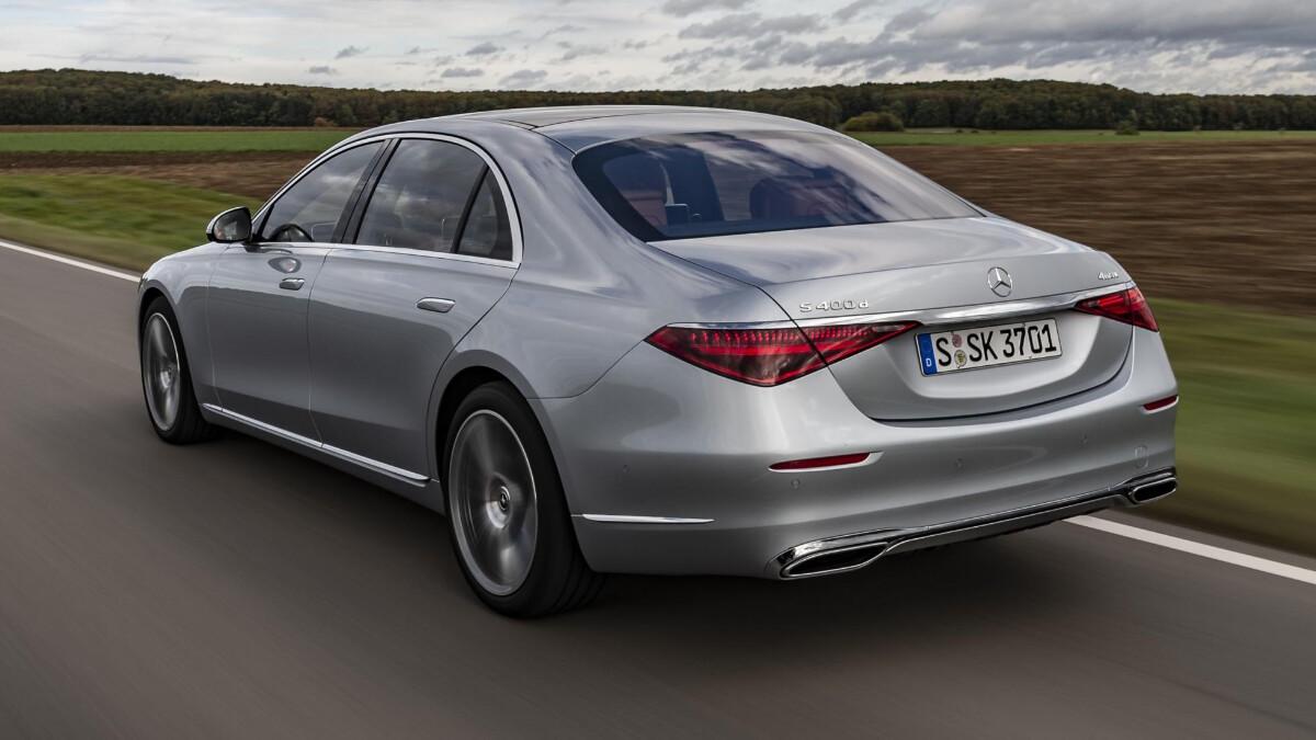 The Mercedes-Benz S-Class