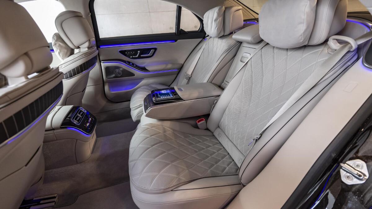 The Mercedes-Benz S-Class Interior