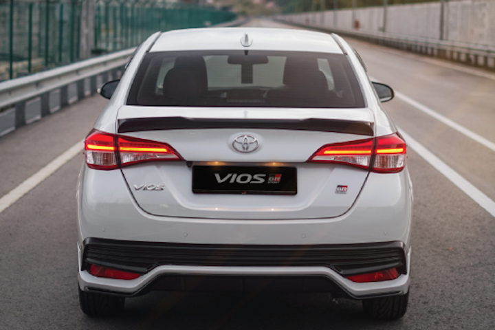 Toyota Vios GR-S rear view