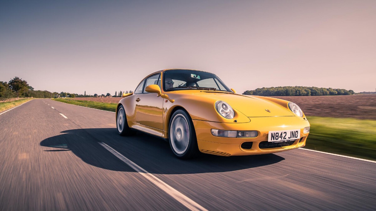 The 1995 Porsche 911 Turbo - On the Road