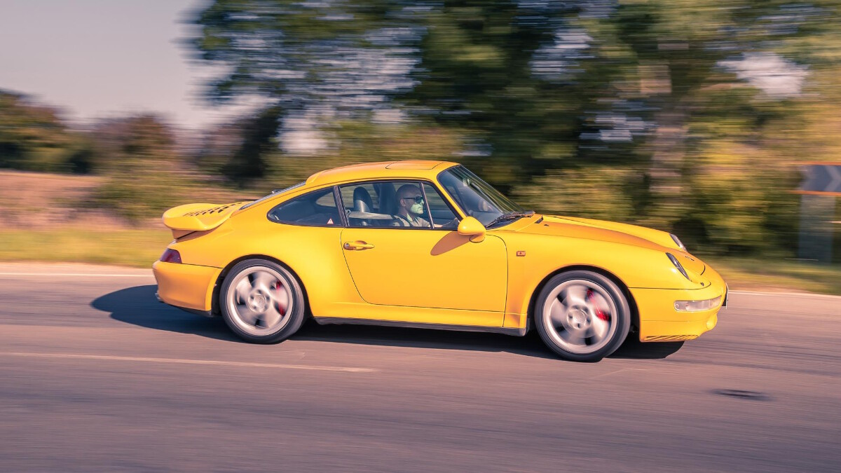 The 1995 Porsche 911 Turbo - On the Road Profile