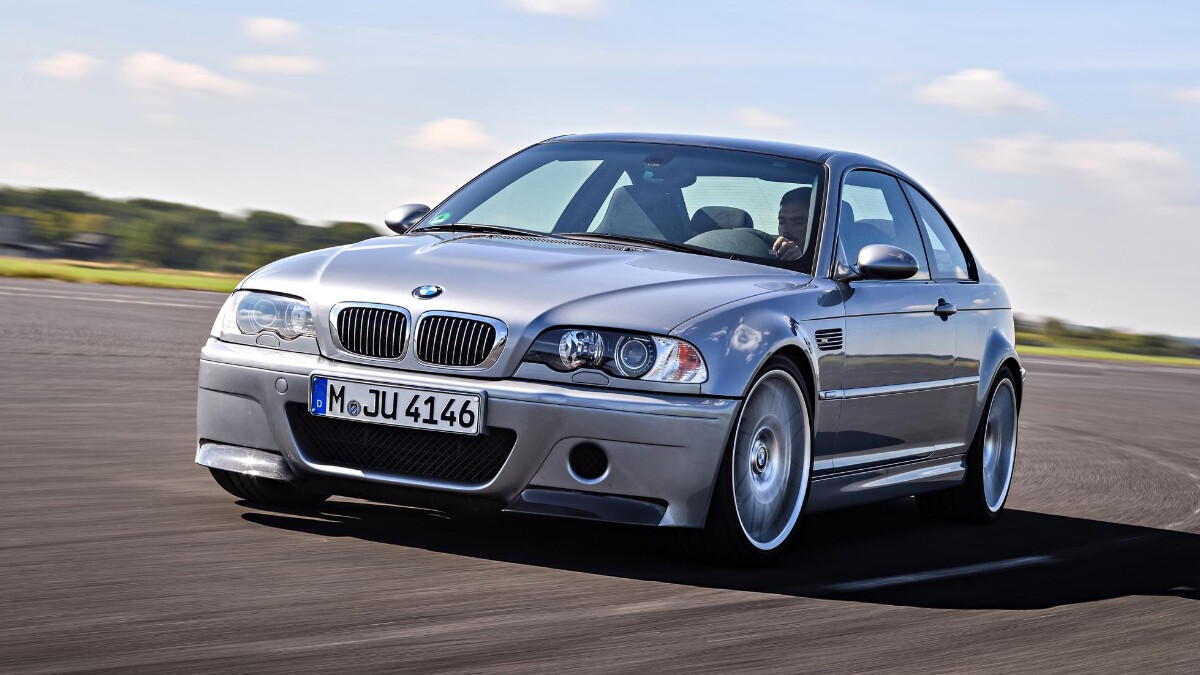 BMW M3 CSL - On the Road
