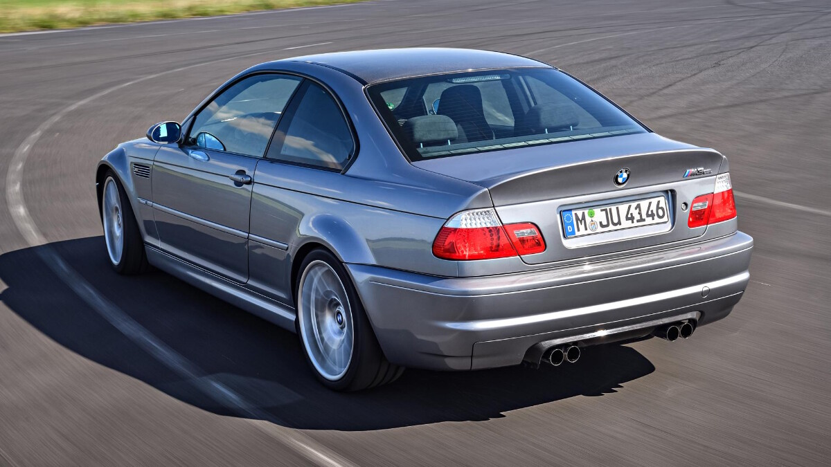 BMW M3 CSL - On the Road Rear