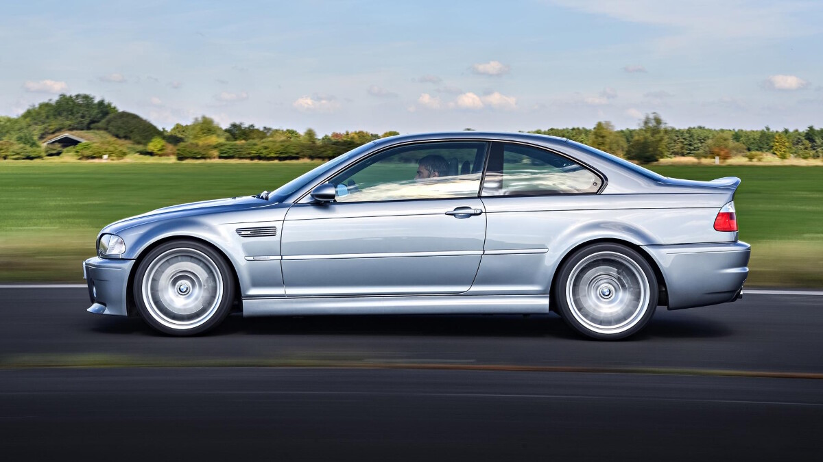 BMW M3 CSL - On the Road Profile