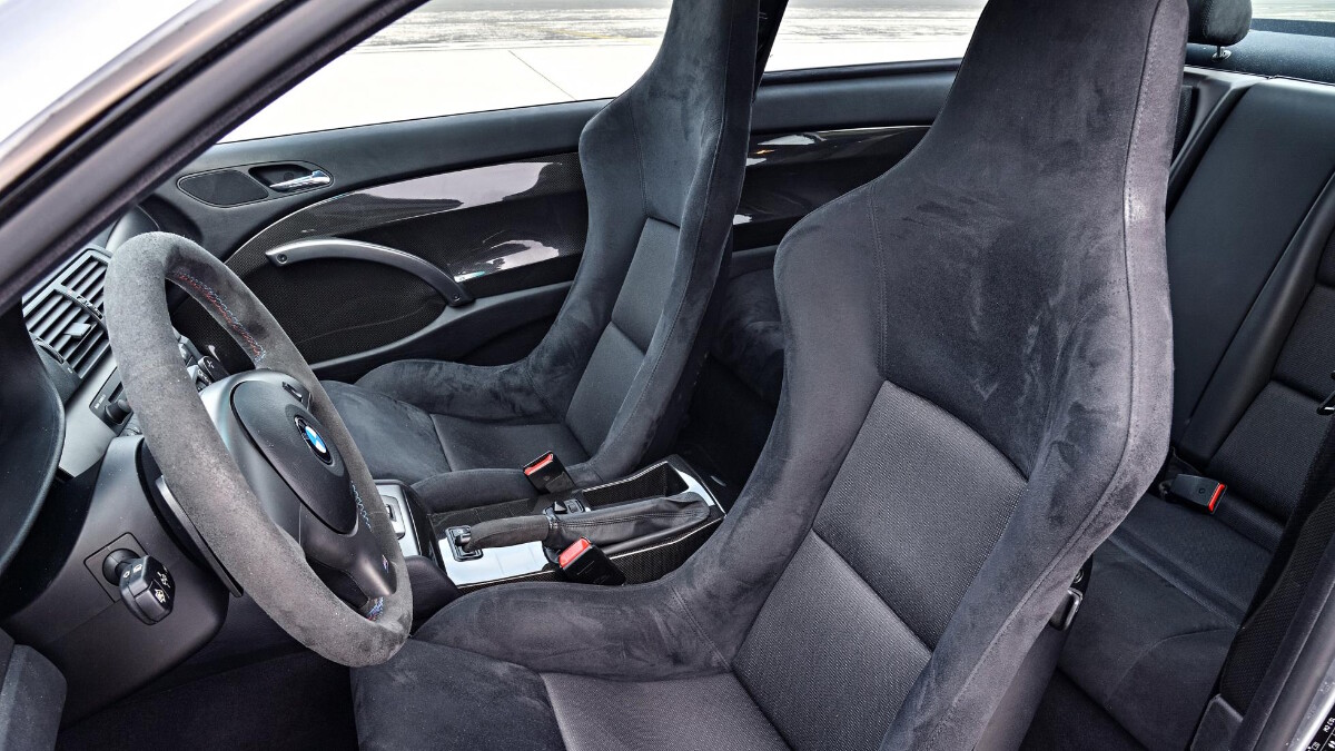 BMW M3 CSL - Passenger and Driver's Seat
