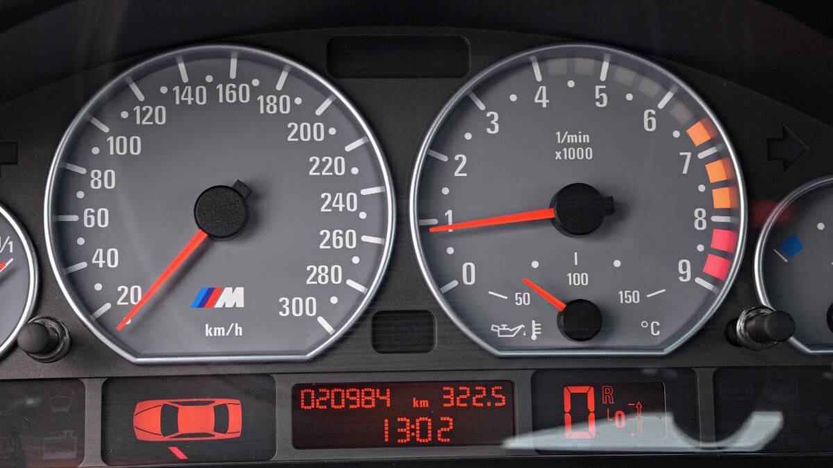BMW M3 CSL - Odometer