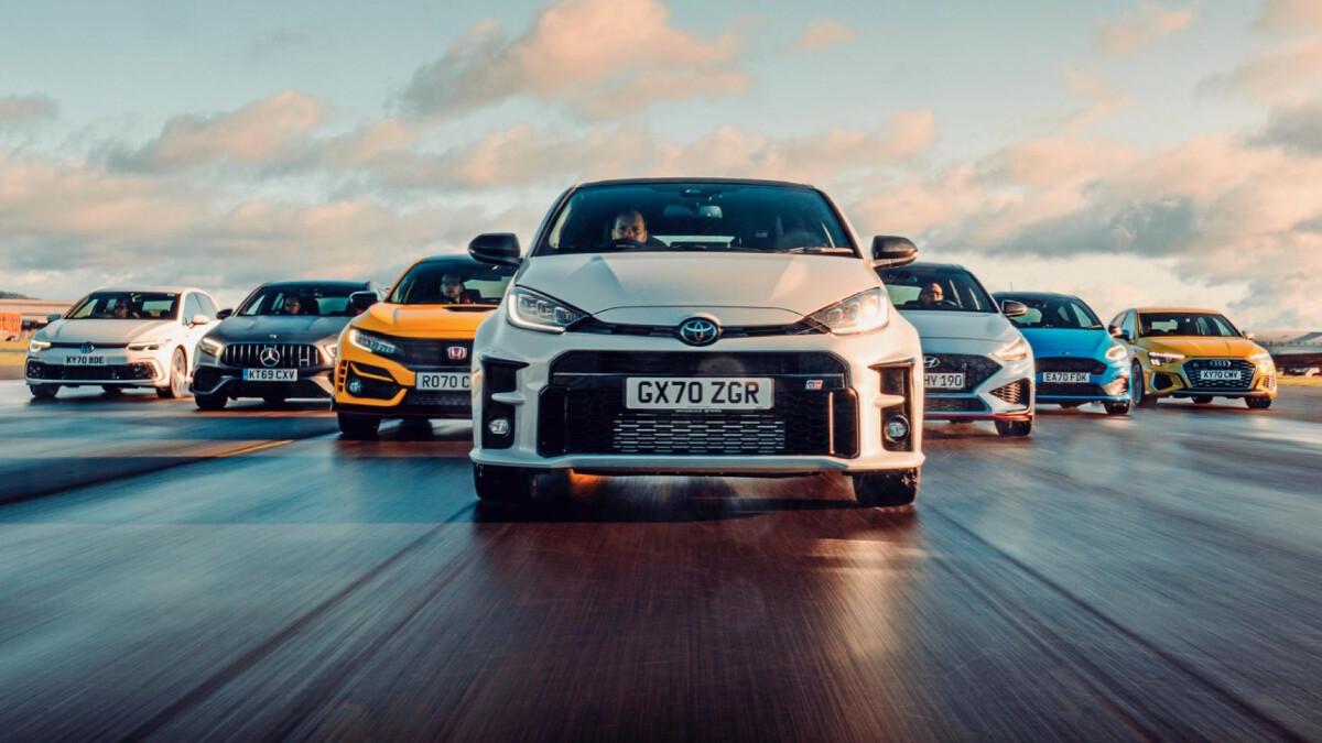 Top Gear's 2020 hot-hatch rankings