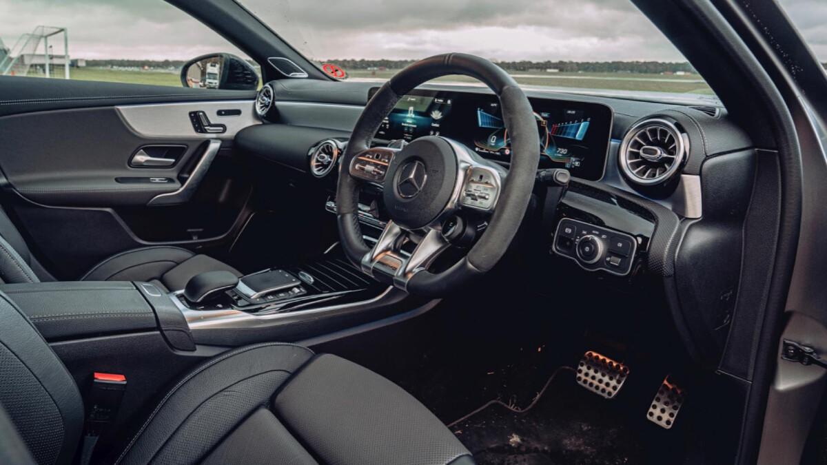 Mercedes AMG A45 Interior