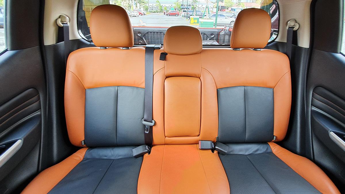 Mitsubishi Strada Athlete - Backseat Feature