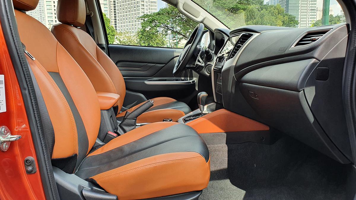 Mitsubishi Strada Athlete - Front Seats Feature w/ Driver's Seat
