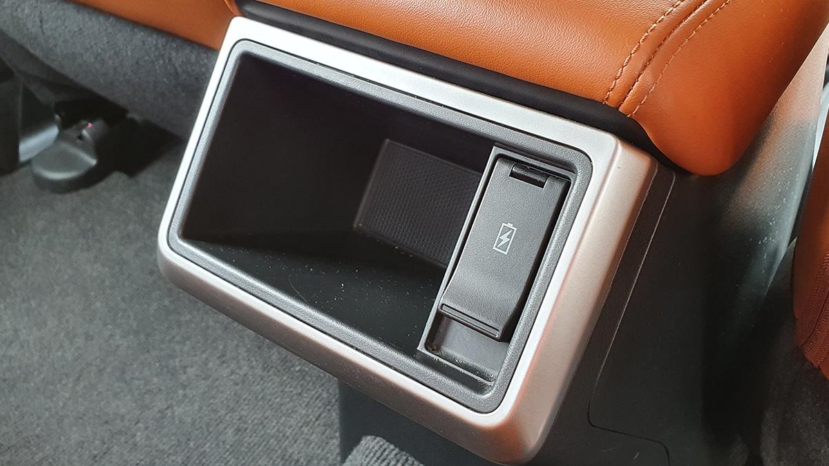 Mitsubishi Strada Athlete - Interior: Charging Hub