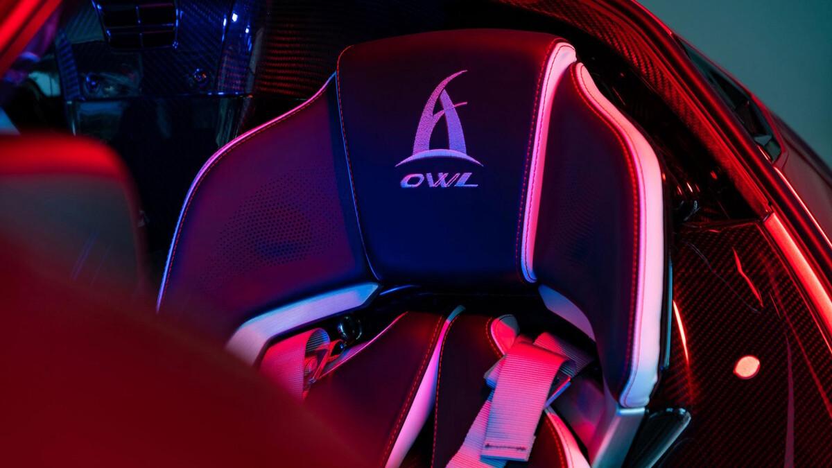 The 2021 Asprak Owl - Driver's Seat Detail