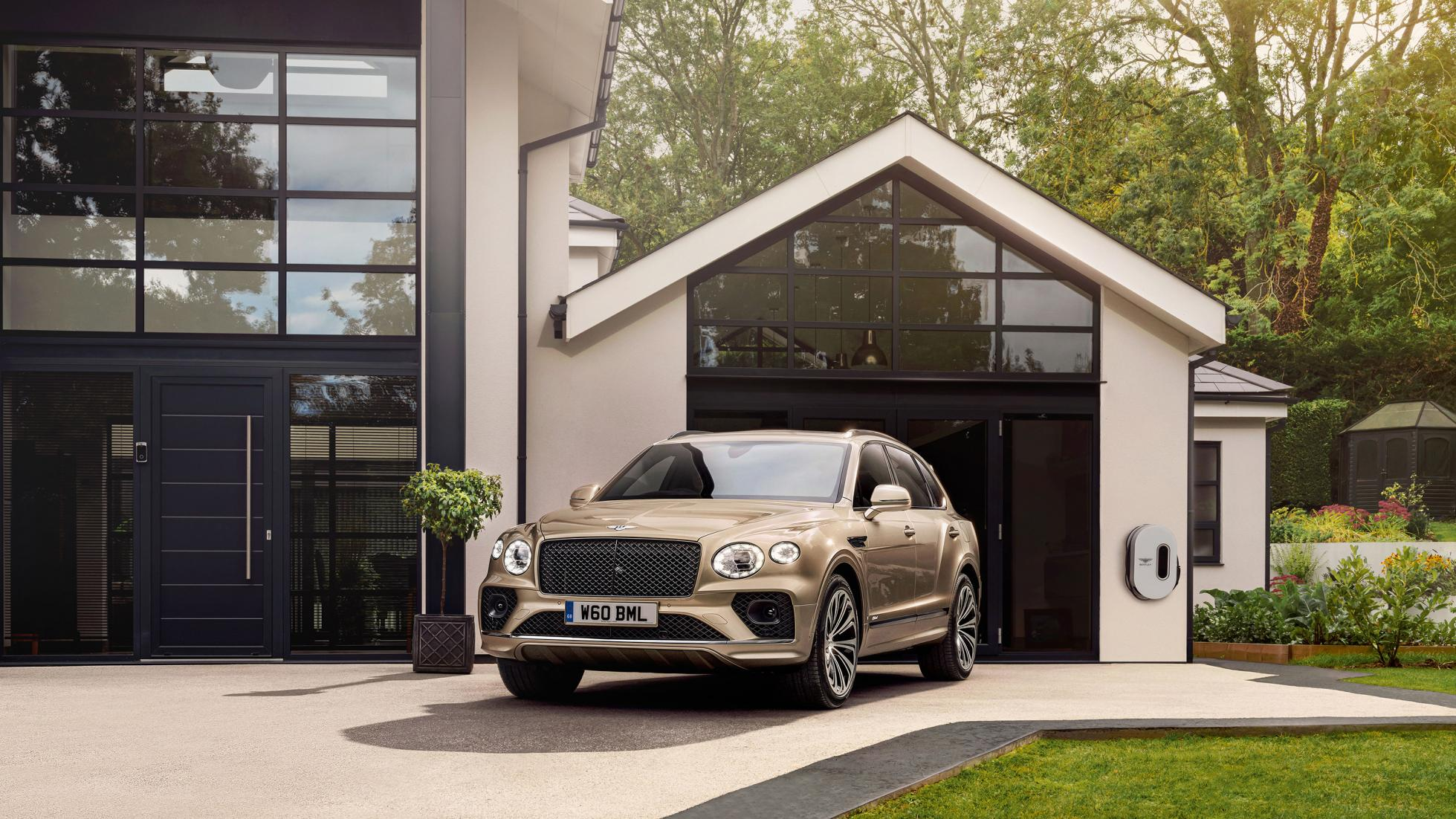 Bentley Bentayga Hybrid - Concept: Parked