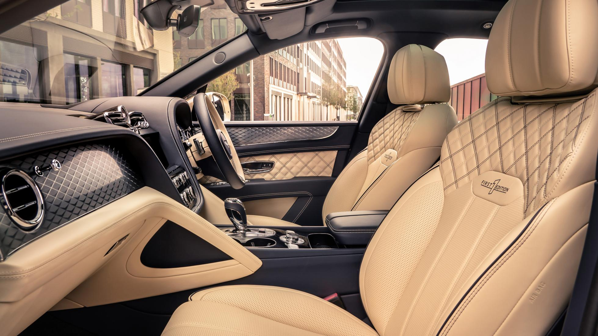 Bentley Bentayga Hybrid - Interior Alternate Angle