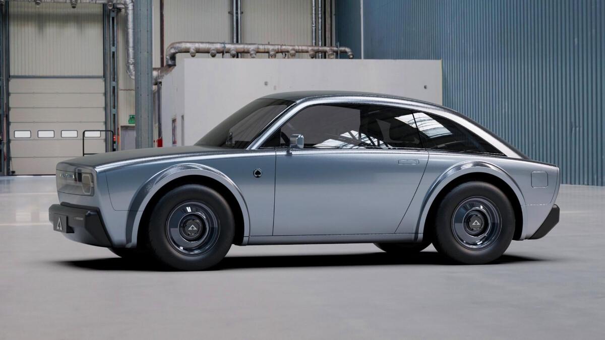 Alpha Ace Coupe - Side Profile