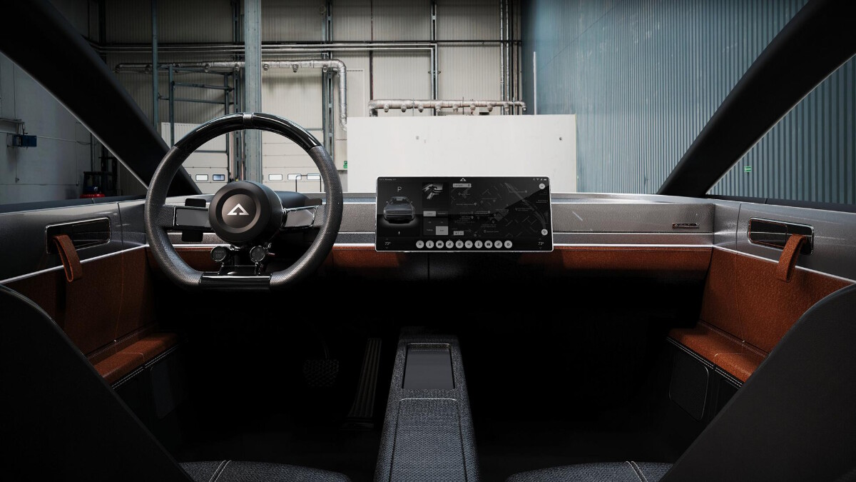 Alpha Ace Coupe - Dashboard