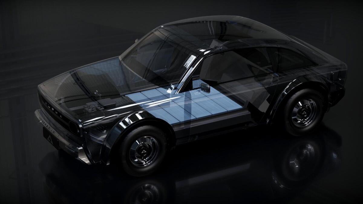 Alpha Ace Coupe - Feature