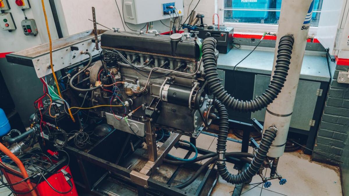 An Alvis Engine