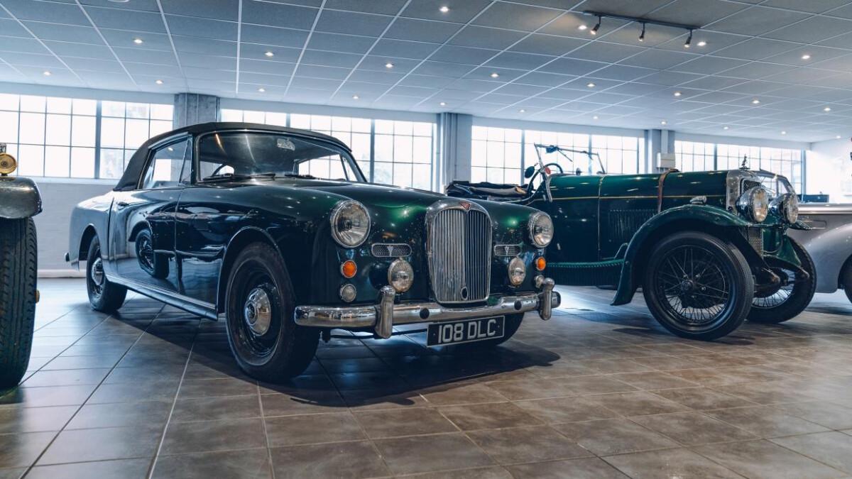 Alvis Car Showroom