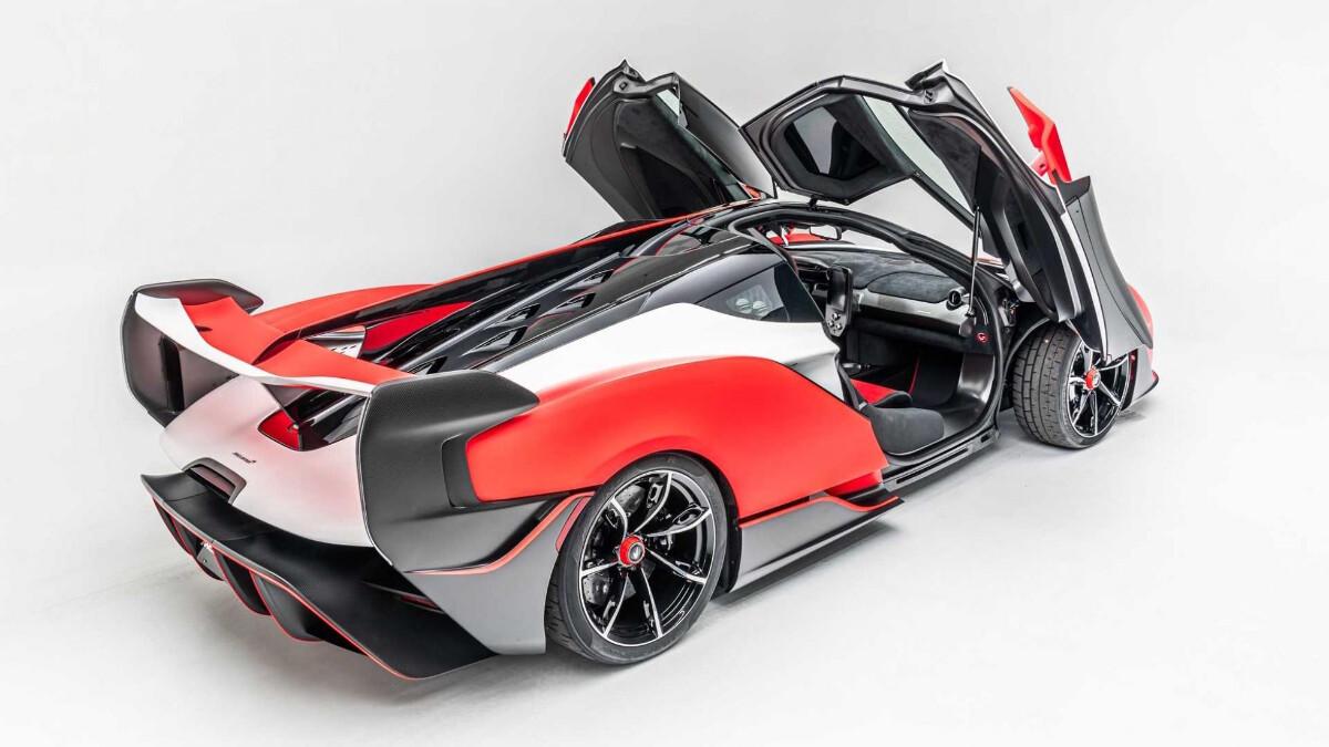 The 2021 McLaren Sabre - Opened Doors