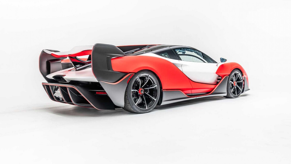 The 2021 McLaren Sabre - Rear View