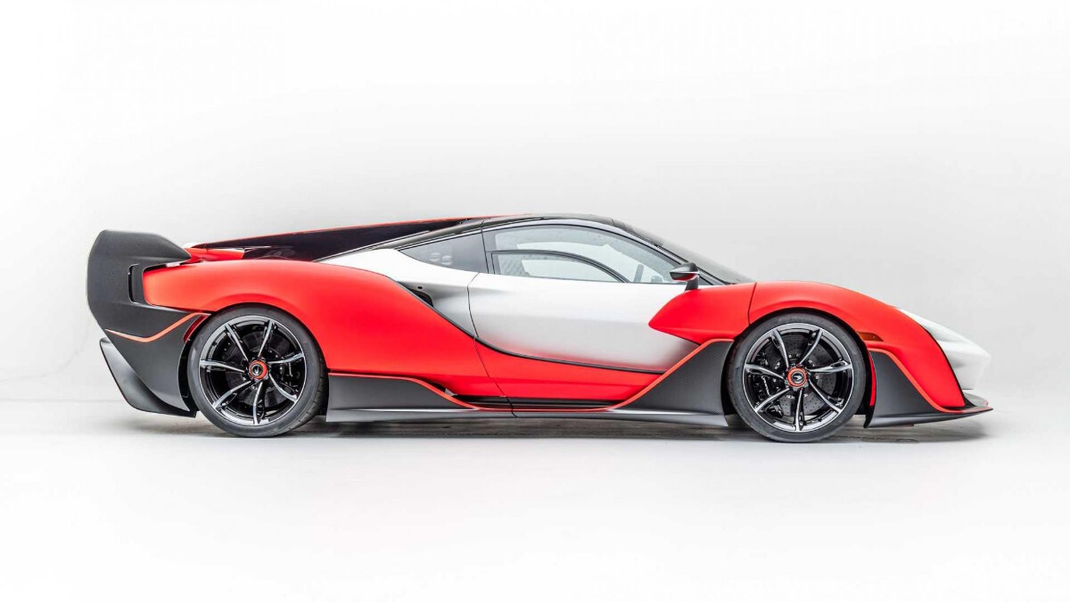 The 2021 McLaren Sabre - Side