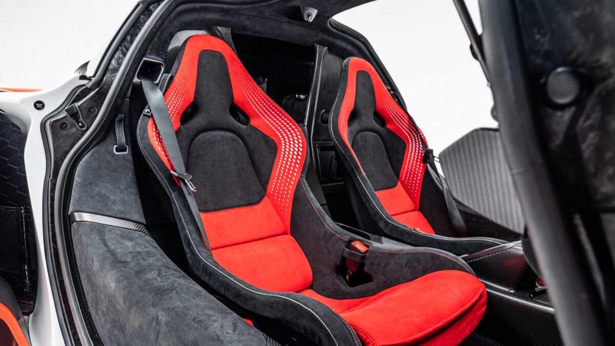 The 2021 McLaren Sabre - Passenger's Seat View