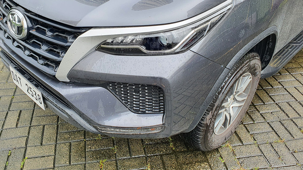 The 2021 Toyota Fortuner - Headlamp