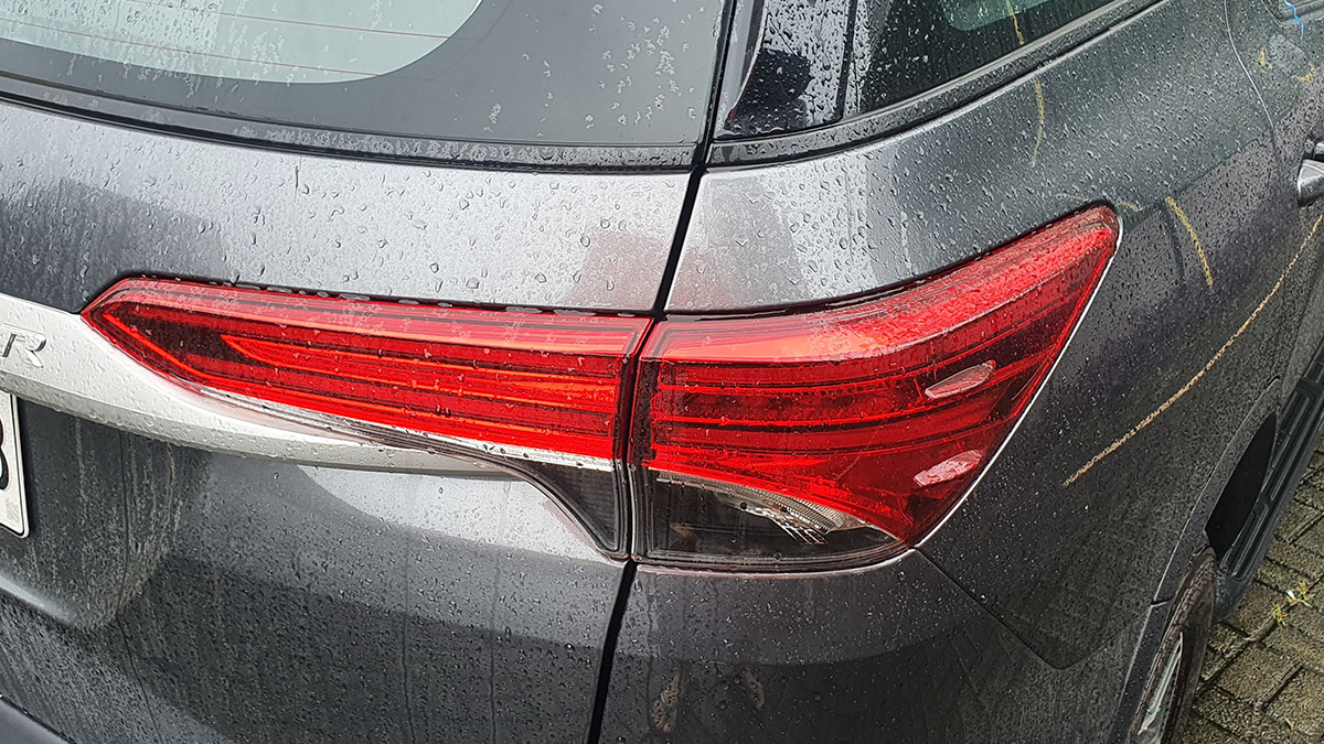 The 2021 Toyota Fortuner - Tail Light