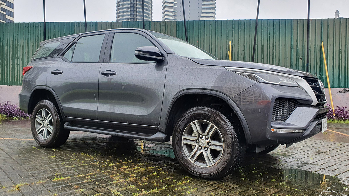 The 2021 Toyota Fortuner - Front Profile