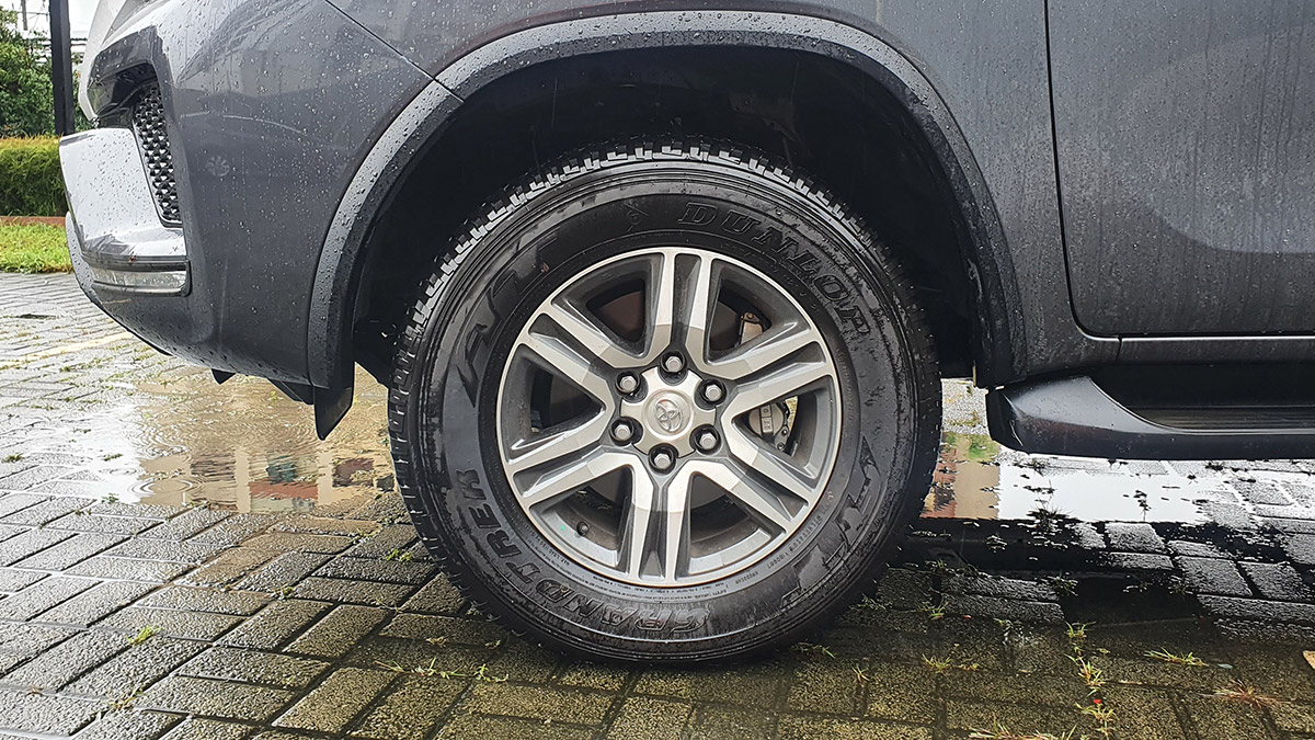 The 2021 Toyota Fortuner - Front Wheel