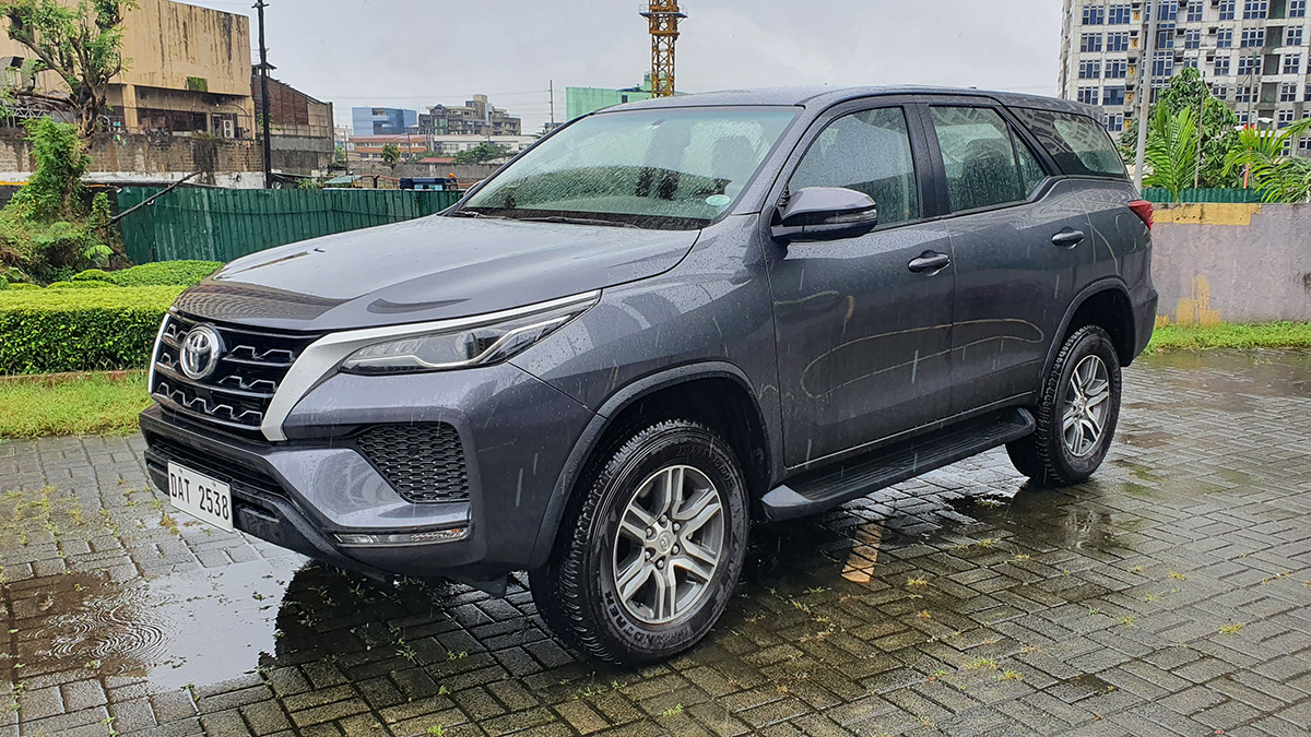 The 2021 Toyota Fortuner - Exterior
