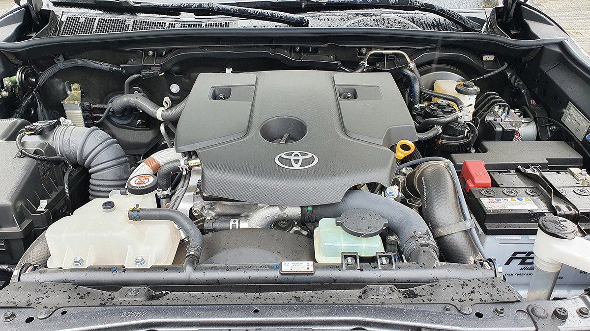 The 2021 Toyota Fortuner - Engine