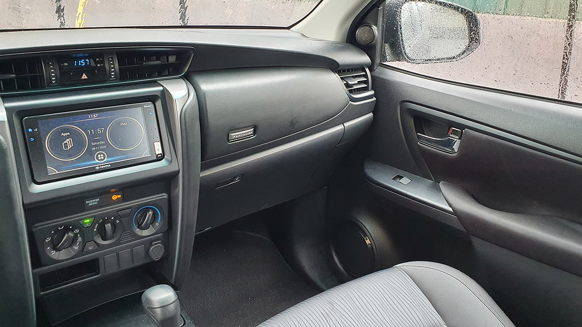 The 2021 Toyota Fortuner - Glove box