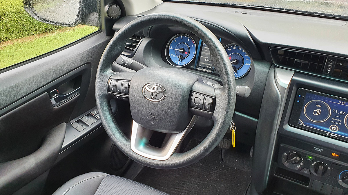 The 2021 Toyota Fortuner - Steering Wheel