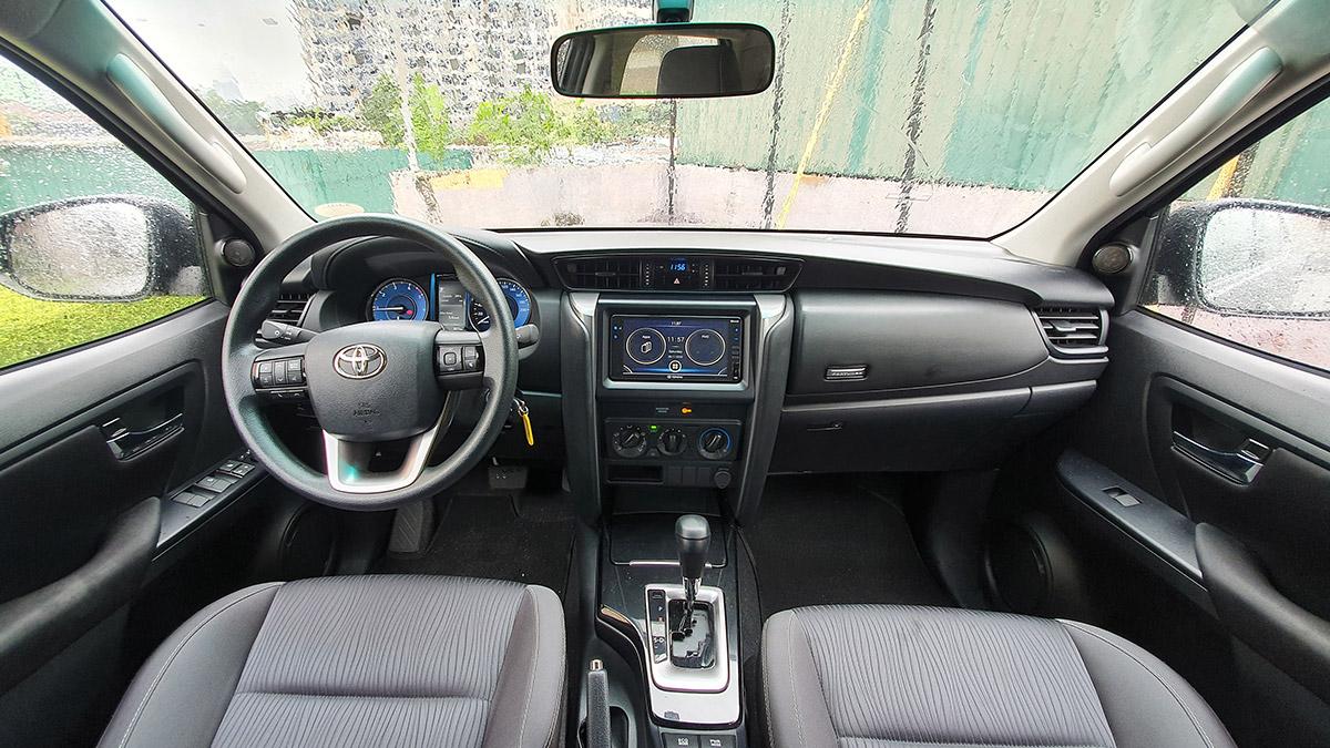 The 2021 Toyota Fortuner - Interrior