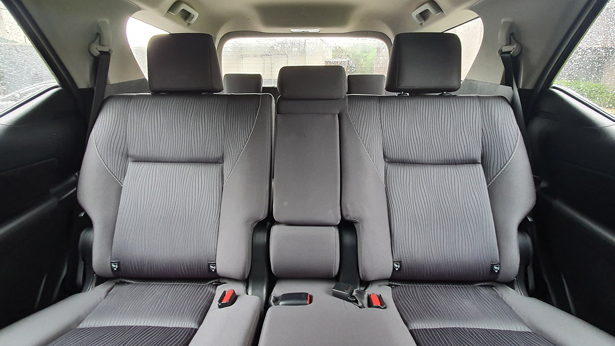 The 2021 Toyota Fortuner - Passengers' Seat