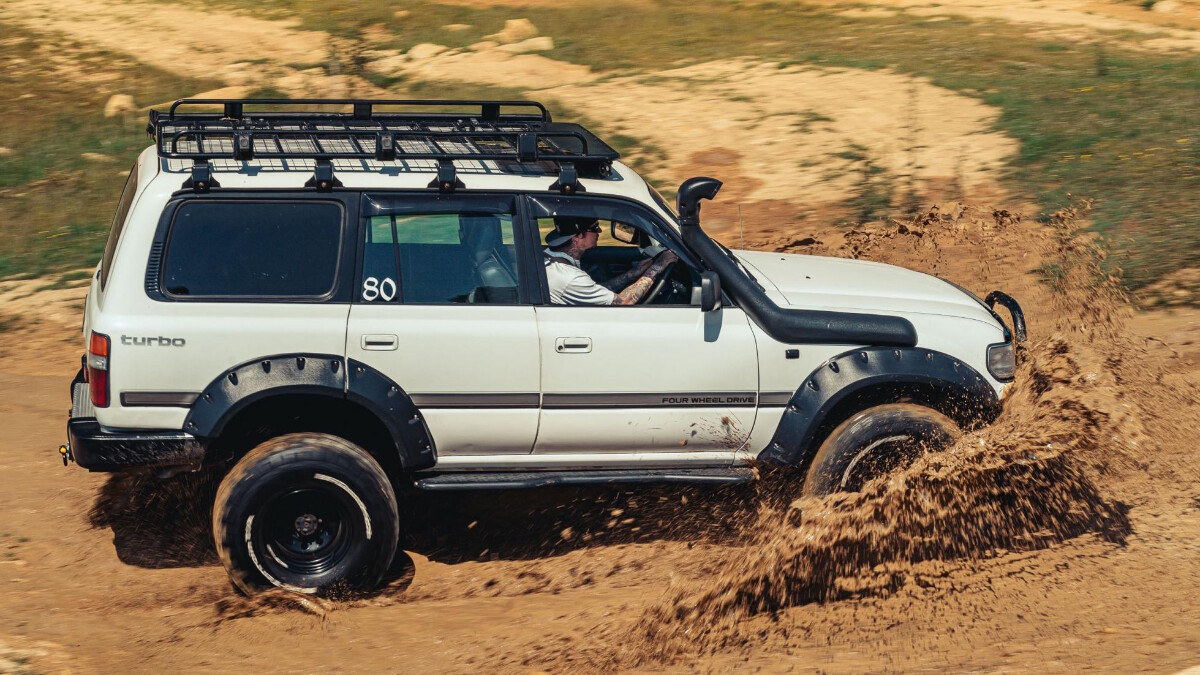An off-roaders' day out at Elmbridge