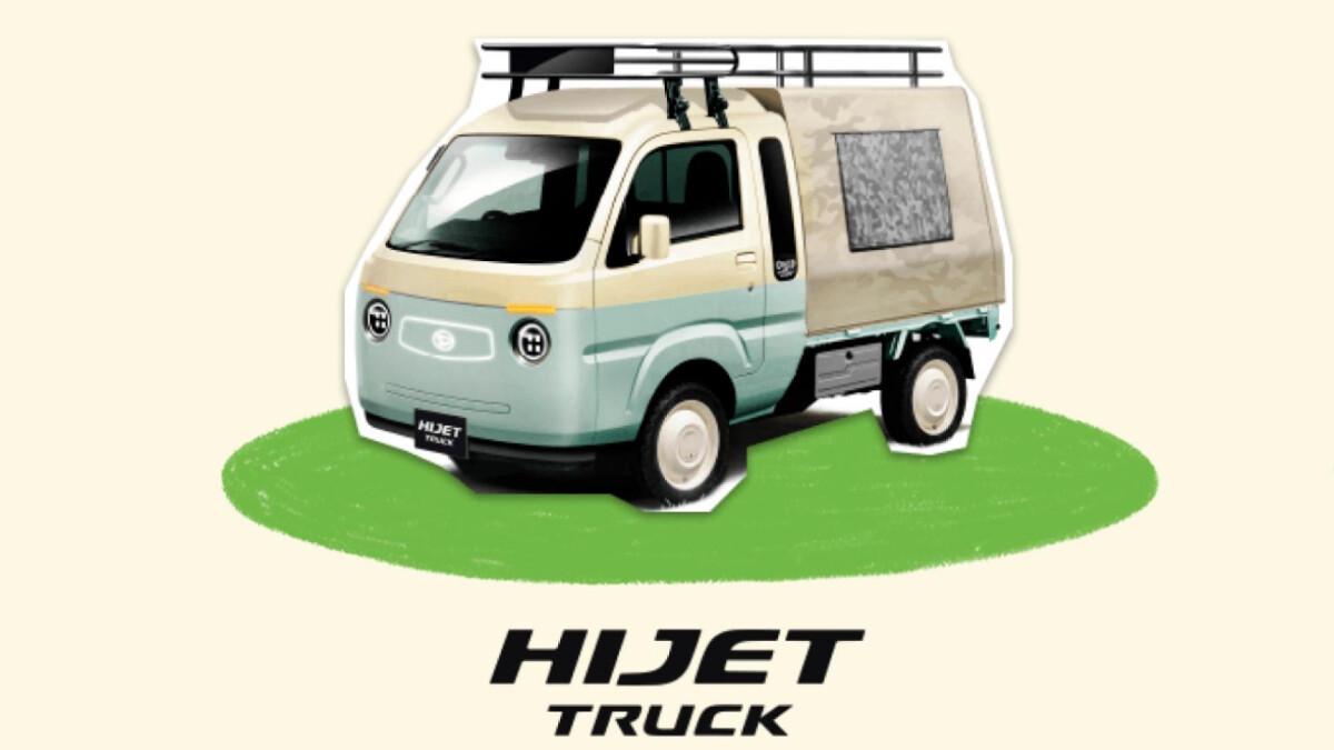 Daihatsu Hijet Jumbo Camper - Tokyo Auto Salon